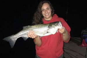 Braggin' Board Photo: Nice Striper Bass