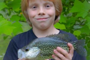 Braggin' Board Photo: Bryce & His Crappie