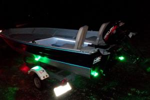 Braggin' Board Photo: My Boat lights on