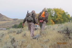 Braggin' Board Photo: Dragging out my Mule Deer