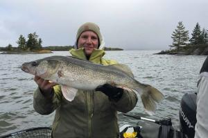 Braggin' Board Photo: Nice Lake Of The Woods Fall Walleye