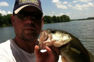 Braggin' Board Photo: Bass on Cheatham Lake