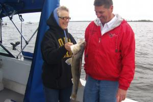 Braggin' Board Photo: Big Walleye Caught on Lake Of The Woods