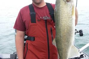 Braggin' Board Photo: Lake Erie Walleye