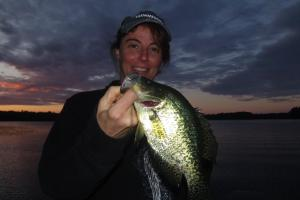 Braggin' Board Photo: Black Crappie on Gulp Alive
