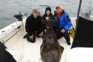 Braggin' Board Photo: 200 lbs Halibut