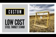 DIY Low-Cost Steel Target Stand