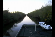 1Source Video: Bayou Dawn Patrol Boat Ride