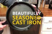 Two Ways to Season Cast Iron Pans