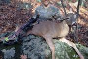 Braggin' Board Photo: First deer 109 lb buck